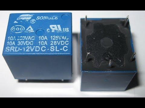 Relay Mini 12V DC Power Relay 20Pcs PCB from banggood