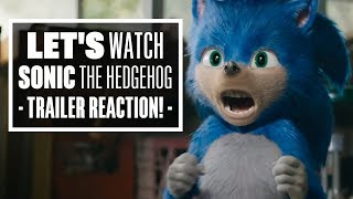 Let's Watch the Sonic the Hedgehog Trailer - Sonic the Hedgehog Movie Reaction