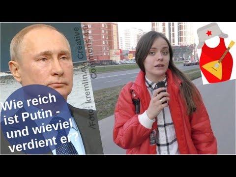 Wie reich ist Putin – und wieviel verdient er? [Video]