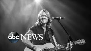 Keith Urban on speaking through the 'incredible language of music'