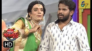 Hyper  Aadi Raijing Raju Performance   Jabardasth   21st September 2017  ETV  Telugu