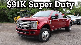 2019 Ford F-450 Limited | Serious SUPER DUTY Luxury!