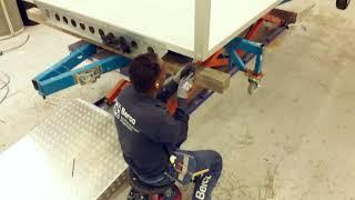 En vanlig dag i fabriken