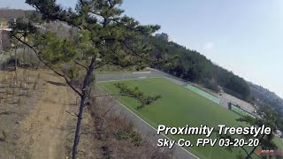 ????Proximity????Treestyle (FPV freestyle): caught by tall tree????????????