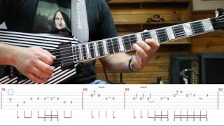 HOW TO PLAY - Vinnie Moore - Last Chance (GUITAR LESSON - AULA DE GUITARRA)