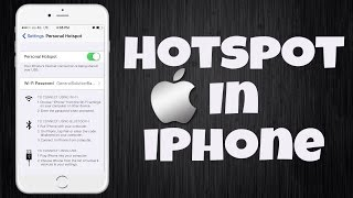 Hotspot in iPhone: SOLVED !! How to Activate Personal Hotspot Button missing in iPhone