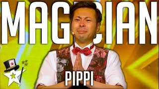 1..2..3 PIPPI! Comedy Magician Gets GOLDEN BUZZER on Asia