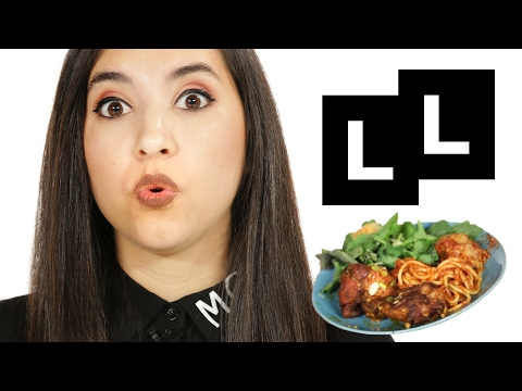 Women Try The Worst First Date Foods ᛫ Ladylike