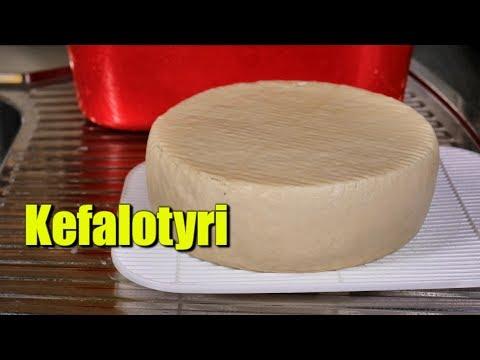 How to Make Kefalotyri (Saganaki Cheese)
