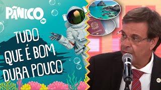 Gilson Machado fala sobre ascensão e queda do turismo o Brasil e vacinação via passaporte