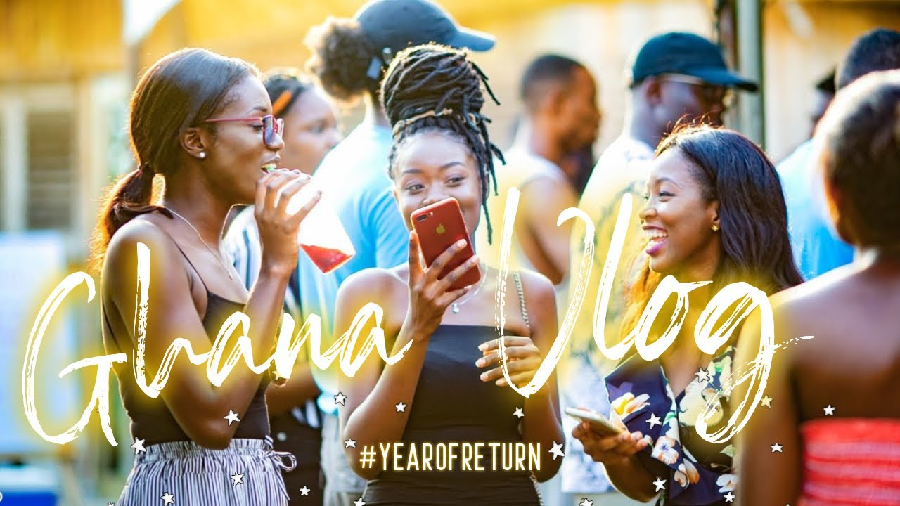 #YEAROFRETURN GHANA VLOG: My Experience at ACCRA GOODS MARKET 2019 | MEETING FRIENDS & FOOD