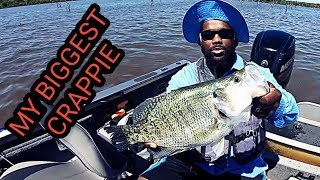 BIGGEST Crappie Ive Ever Saw **MONSTER FISH*