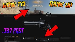 "How To Unlock ""Snake Shot"" FAST For The .357 (Modern Warfare)"