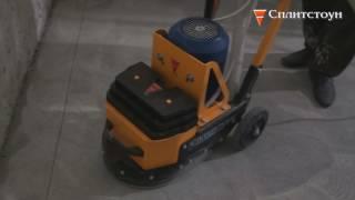 """Машина мозаично-шлифовальная GM-245 7,5 от компании ООО """"РСТ"""" - видео"""