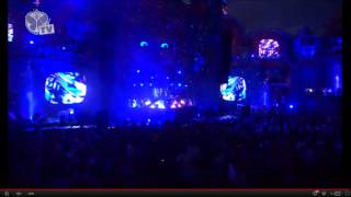 "TOMORROWLAND 2012 - AVICII PLAYING AN UNRELEASED TRACK ""ID"" - ""ALWAYS ON THE RUN"""