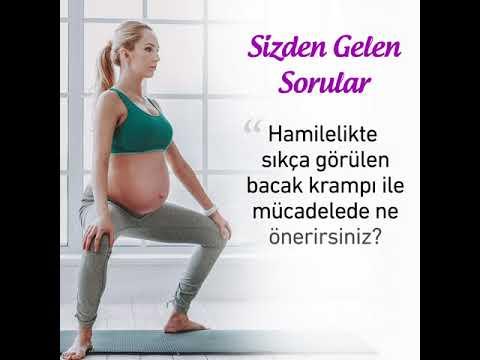 Hamilelikte bacak krampı için öneriler