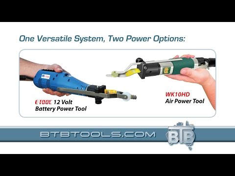BTB Tools - (Español) Aire y de la batería del parabrisas Desarrollado herramienta de eliminación