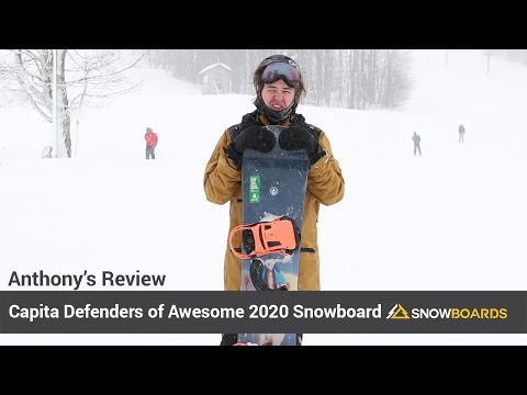 Video: Capita Defenders of Awesome Snowboard 2020 2 50