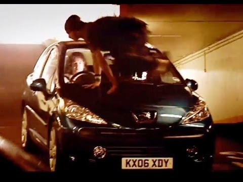 Peugeot 207 vs Parkour Free-Runners (HQ) | Top Gear | Series 8 | BBC