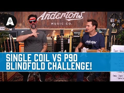 Think you know your Single Coils from your P90s? Blindfold challenge!
