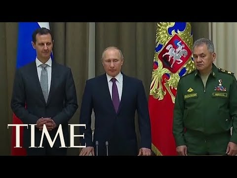 Putin Says Russia Will End Its Military Operation In Syria After Surprise Talks With Assad | TIME