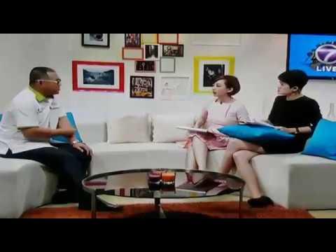李衍旺博士 受邀出席 NTV7 由蒋珮珮及李心怡专访