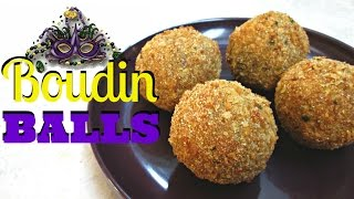 Crispy Fried Boudin Balls - Southern Pork Sausage And Rice Dressing - PoorMansGourmet