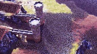 Ultimate EPIC BATTLE SIMULATOR - 20,000 VS 5,000 Castle Siege | UEBS Gameplay