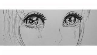 Смотреть онлайн Как нарисовать аниме слезы и эмоции