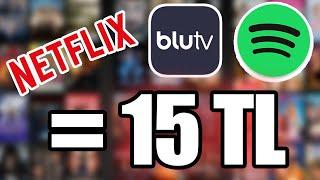 İnternette 5-10 TL'ye Paket Halinde Satılan BLUTV, Netflix ve Spotify Premium Hesaplarını Denedik!