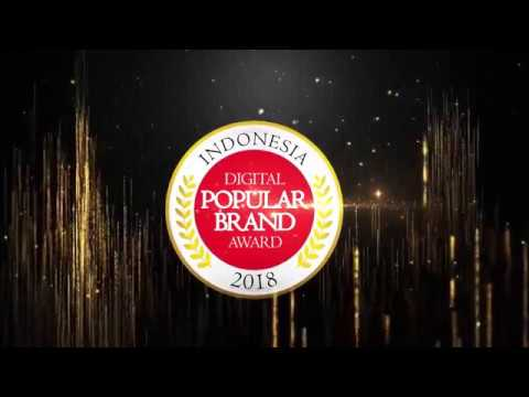 Indonesia Digital Popular Brand Award 2018 - Intex