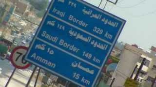 preview picture of video '(1075) On the way to the next destination, the capital  Amman in  Jordan  7'