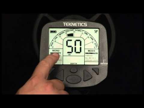 Teknetics Gamma Metal Detector