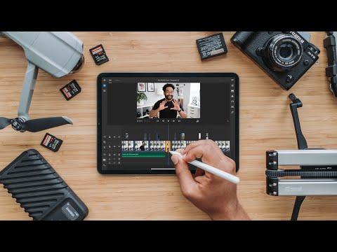 Editing Videos on iPad | Full Adobe Premier Rush Workflow