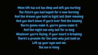 Britt Nicole - The Sun Is Rising (Lyrics High Quality Mp3)