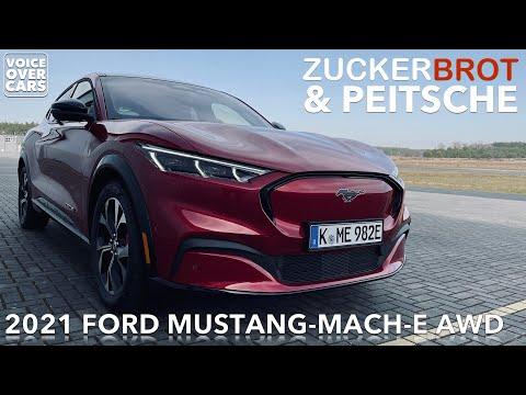 2021 Ford Mustang Mach-E AWD Lob & Kritik   Zuckerbrot & Peitsche   Der etwas andere Fahrbericht