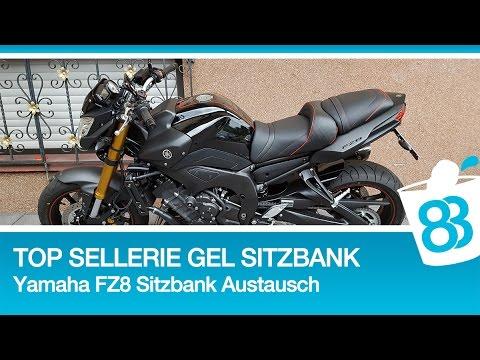 Top Sellerie Sitzbank Montage Und Erfahrung   Yamaha FZ8 Gel Sitzbank