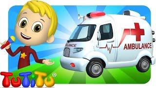 TuTiTu Songs Channel | Ambulance | Sing Along For Kids