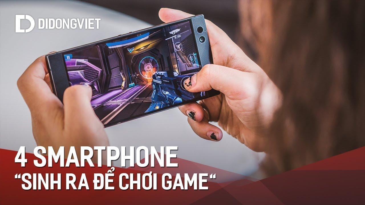 """4 smartphone thực sự """"sinh ra để chơi game"""""""