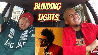 THE WEEKND   BLINDING LIGHTS (AUDIO) REACTION REVIEW