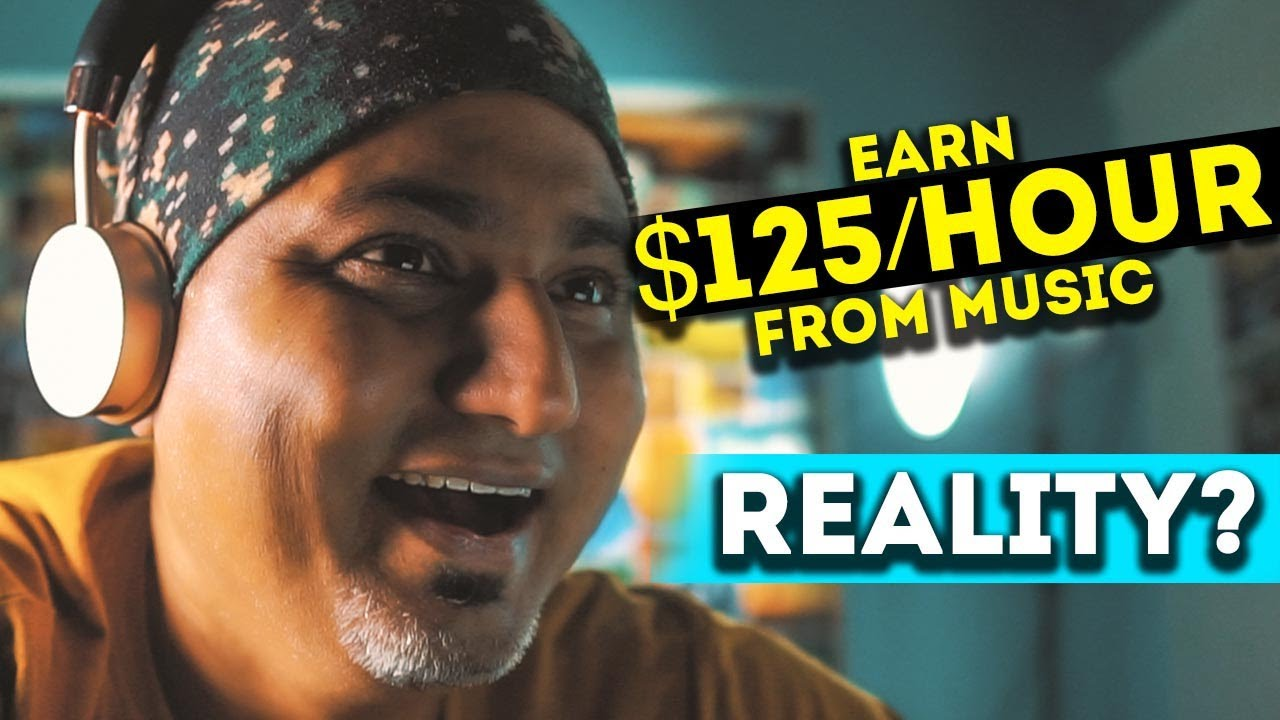 Make $20 Per Tune|Truth of MAKE MONEY by LISTENING TO MUSIC? thumbnail