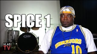 """Spice 1 on 2Pac Rolling a Bloody Blunt After Being Shot so He Could """"Die High"""" (Part 8)"""
