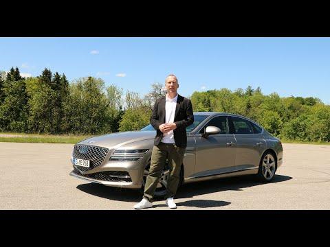 Genesis G80: Mit der Hyundai Luxus-Limo durch die Schweiz
