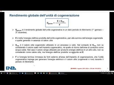 Cogenerazione, Cogenerazione ad Alto Rendimento, Energia, Energia elettrica, Finanziamenti per l