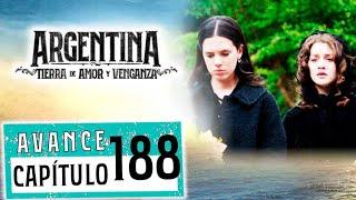 """Avance emitido el miércoles 5 de diciembre de 2019 en eltrece, correspondiente al capítulo 188 de """"Argentina, tierra de amor y venganza""""."""