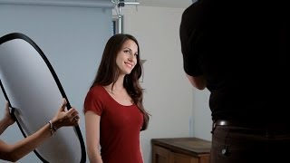 How To Set Up Studio Lighting At Home | Portrait Photography