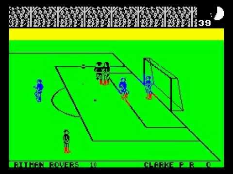 Match Day Walkthrough, ZX Spectrum (21-0 on highest difficulty)