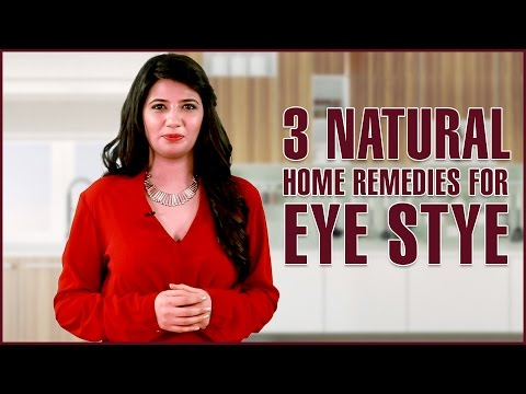 Video 3 Natural Home Remedies To GET RID OF A STYE IN EYE