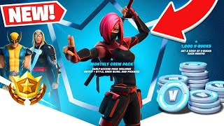 How To Get MONTHLY CREW PACK SUBSCRIPTION! (Fortnite Battle Royale)