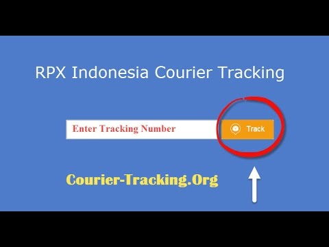 RPX Indonesia Courier Tracking Guide